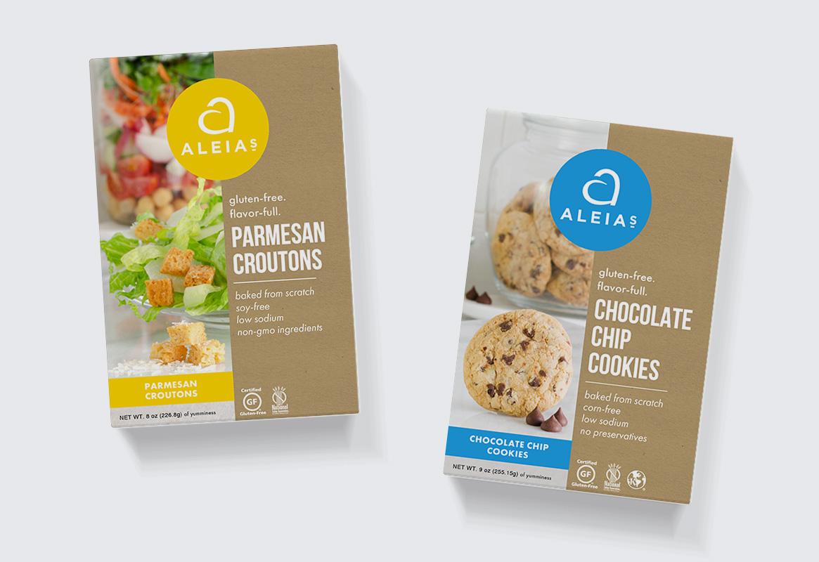 Aleia's Packaging Design