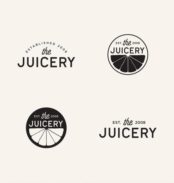 alt juicery logos in black