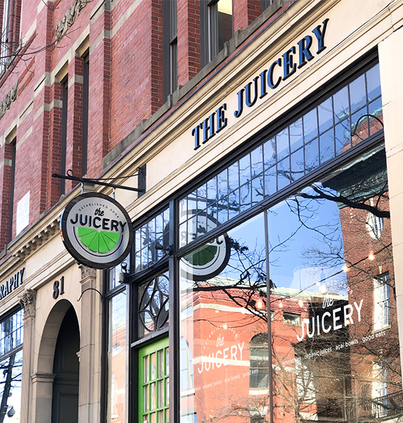 juicery store front
