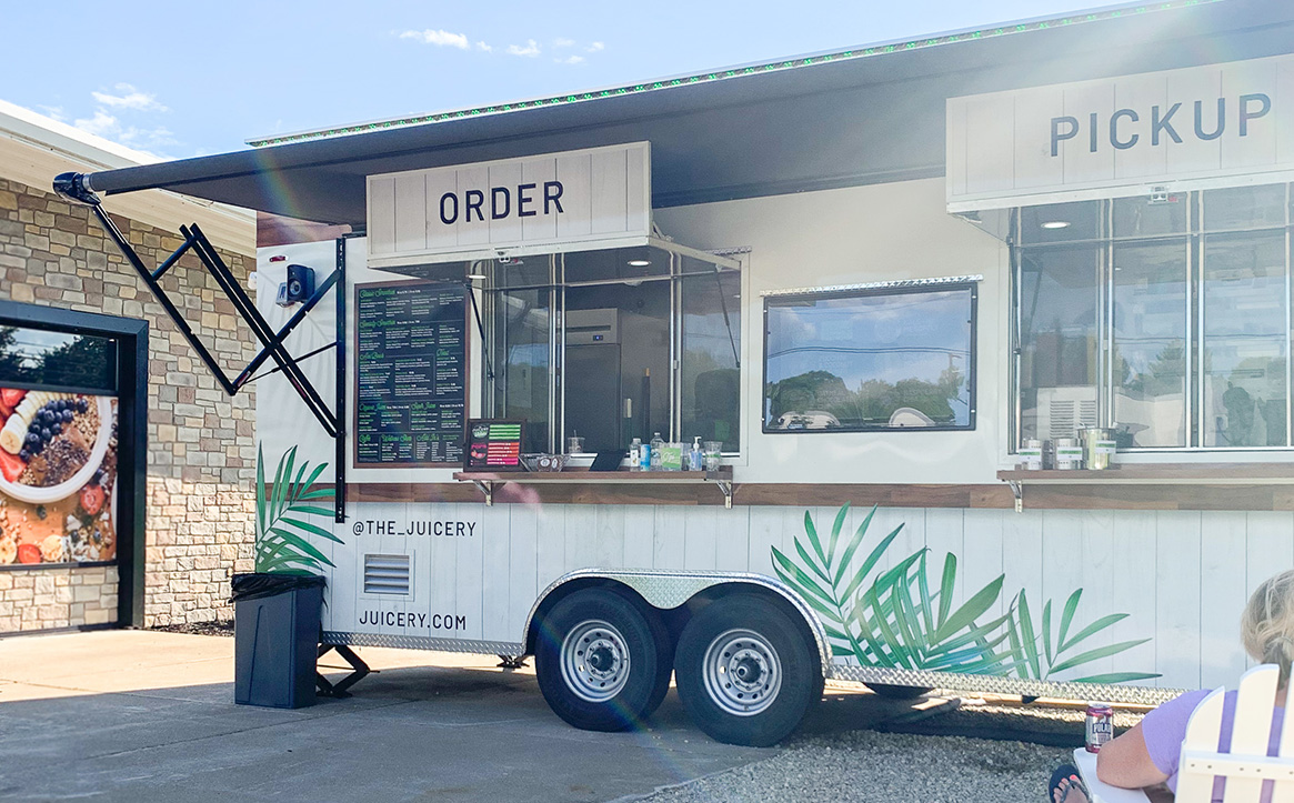 the juicery food truck