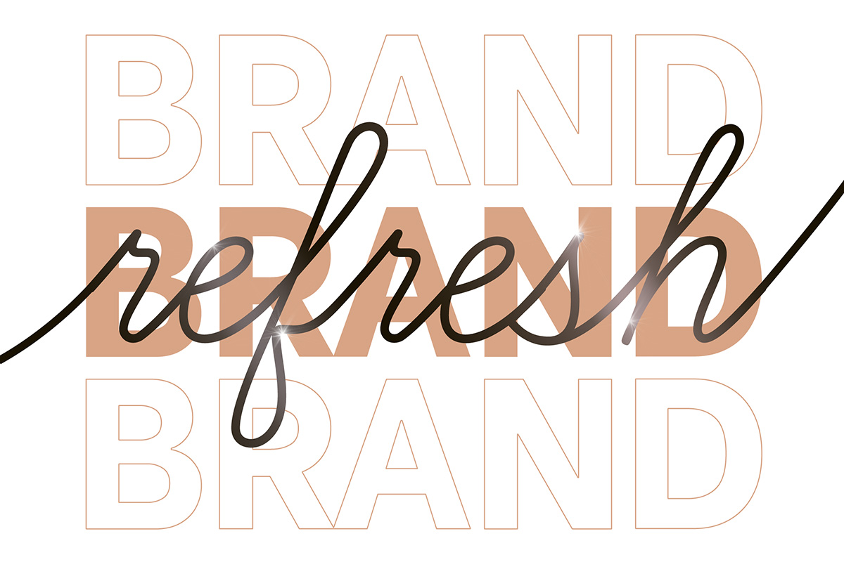brand refresh graphic
