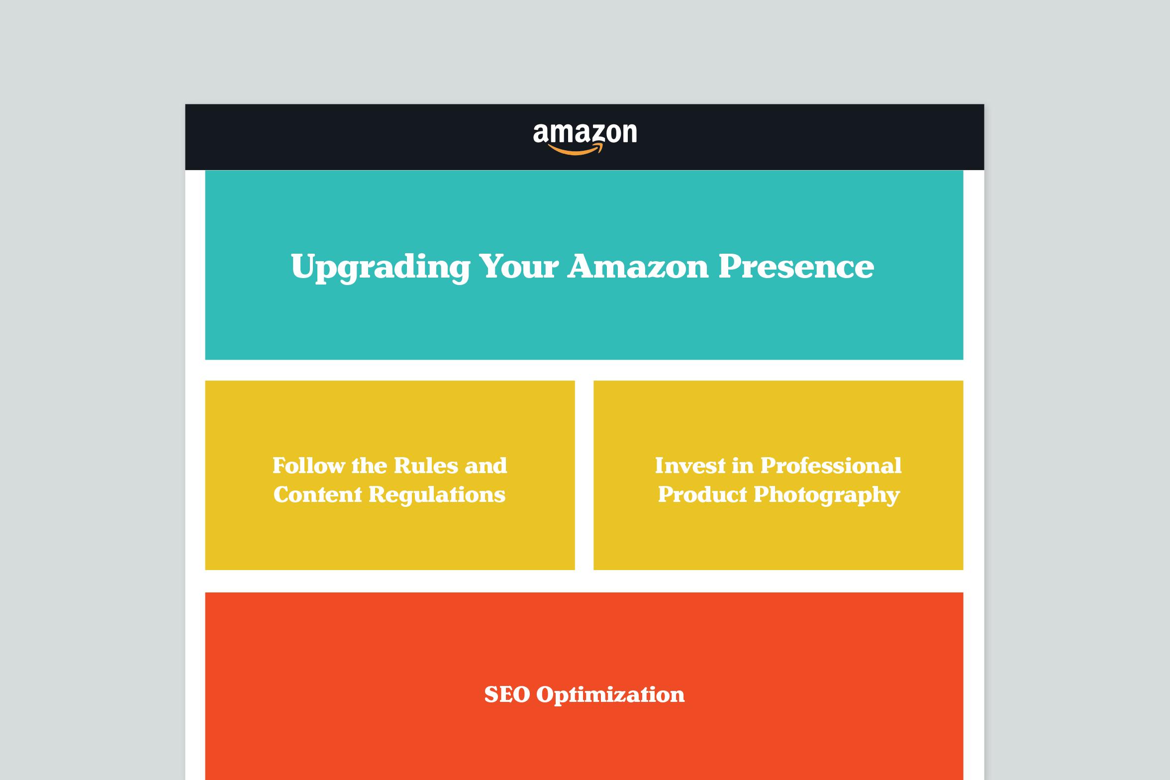 upgrading your Amazon presence