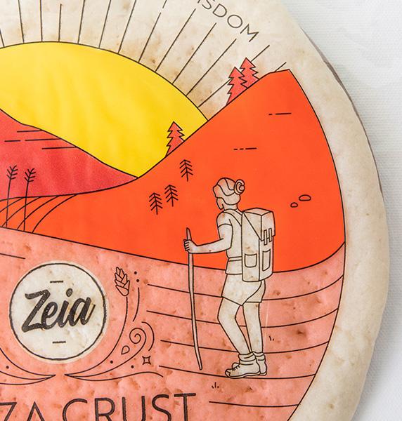 Zeia Foods Gluten-Free Pizza Crust