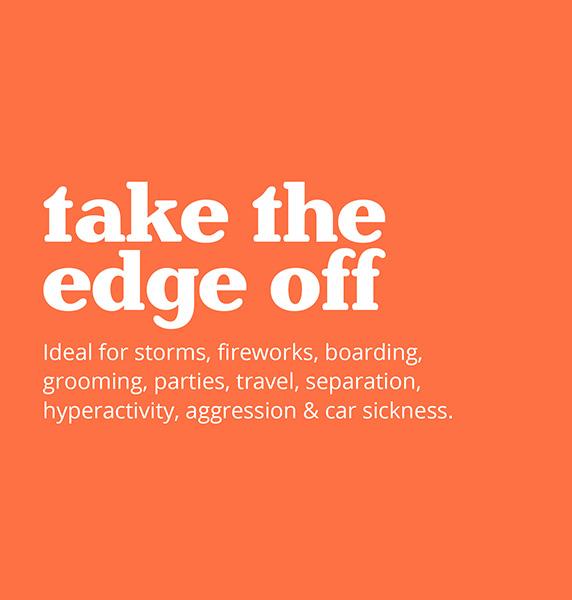 take the edge off